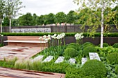 CONTEMPORARY CONTEMPLATION, DESIGNER: ONEABODE LTD,RHS HAMPTON COURT FLOWER SHOW 2012