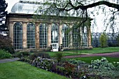 PALM HOUSE AT THE ROYAL BOTANIC GARDEN EDINBURGH,  IN SPRING